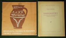 BOOK Polish Folk Pottery eastern Poland Lublin ethnic design peasant kiln clay