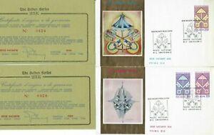 s30744) VATICANO 1978 FDC Golden Series Sede Vacante (gold Foil 23k)