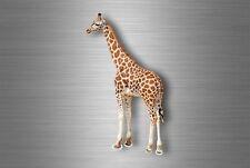 Autocollant sticker voiture moto decoration murale girafe savane animal animaux