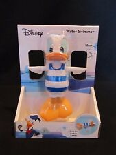 Disney Mickey Mouse Donald Duck Water Swimmer Bath Time Bathtub Wind-Up FUN NEW