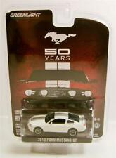 2010 '10 2011 2012 2013 FORD MUSTANG GT 50 YEARS DIECAST GREENLIGHT 2014 RARE