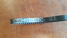 "ContiTech Section XL, 3/8"" Wide, Timing Belt Helanca Weave Stretch 110XL"