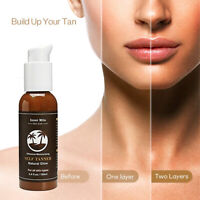 Self Tanner Natural Sunless Tanning Body Lotion Cream Bronzing