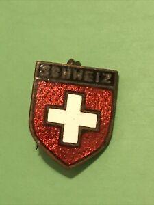 SWITZERLAND Vintage Pin Badge