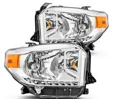 Pair Right Left headlights lights for Tundra 2014 2015 2016 2017 SR SR5 LIMITED