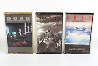 Rush: Grace Under Pressure, Presto & Power Windows Cassette Tapes Lot Of 3
