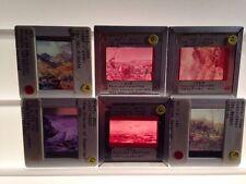 John Brett- English Pre-Raphaelite Art - Lot Of 6 35mm Slides