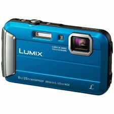 Panasonic DMC-FT30 FOTOCAMERA DIGITALE WATERPROOF 16 MP MP4 ZOOM 4X BLU