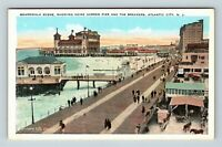 Atlantic City NJ, Heinz Pier, Breakers Boardwalk Vintage New Jersey Postcard