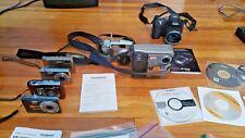 Lot of 7 Digital Cameras