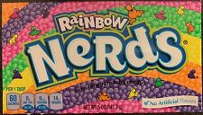 2X NEW RAINBOW NERDS TINY TANGY CRUNCHY CANDY 5 OZ BOX FREE WORLD WIDE SHIPPING