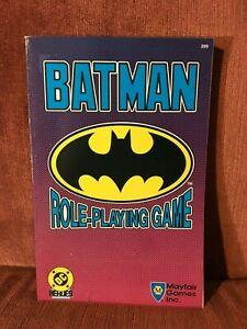 Batman Role-Playing Game Mayfair Games Inc. 1989