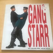 """Gang Starr - No More Mr. Nice Guy (LP, Album, RE) With Free 12"""" Moving On Single"""
