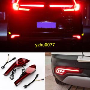 2017-2019 Fit For Honda CR-V CRV Rear Bumper Left Right LED Fog Light Brake Lamp