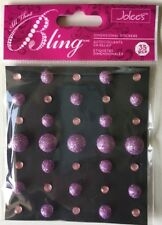 Jolee's Boutique All That Bling Light Pink Domes 50-20645 for Scrapbooking