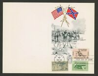 1962 US First Day Issue Commemorative 100 Years Battle of Shiloh Butler & Kelly