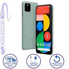 Google Pixel 5 128GB Sorta Sage Unlocked Verizon AT&T T-Mobile - Grade C