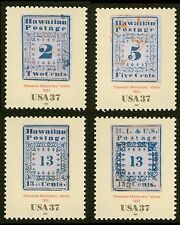 #3694a-d 37c Hawaiian Missionary Stamps, Singles, Mint **ANY 4=FREE SHIPPING**