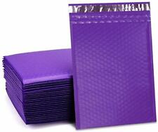 Ucgou 8.5X12 Inch Purple Poly Bubble Mailers Padded Envelopes Self Seal Mailing