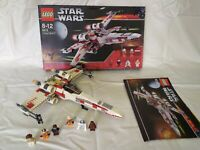 Lego: Star Wars (6212) X-Wing  Complete w/ Figures Instructions & Box 2006