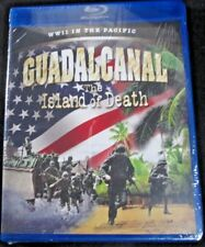 NEW SEALED ~ Guadalcanal - The Island of Death ~ WWII IN THE PACIFIC (Blu Ray)