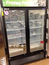 Turbo Air TGF-47SDB 2 Door Freezer Glass Door Merchandiser -Never Used! 115V