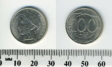 Italy 1998 - 100 Lire Copper-Nickel Coin - Turreted head