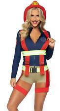 Leg Avenue Hot Zone Honey Firefighter Costume, Large - 86921 (Used)