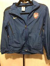 Boys Nike Arsenal FC Blue Training Top Jacket Size M 10/12 Years OS3
