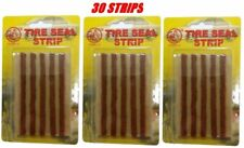 Brown Inserts Thick Tubeless Tyre Repair Kit Plugs Strings 30 x Strips