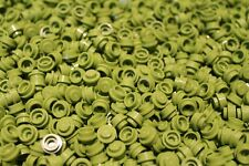 200 X LEGO ® plate round/PIASTRA circa 1x1 (4073) in limette verde/Lime NUOVO
