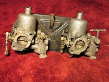 Datsun 1600 SPL Roadster Dual SU Carbs Carburetors and Air Filter Housing