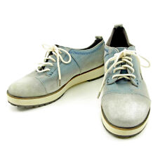 Diesel sneakers Blue White Woman Authentic Used S661