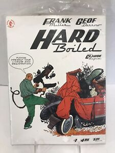 Frank Geof ~ Hard Boiled  ~ Complete Set  of 3 Orignal Plastic Cover ~ Mint-NEW