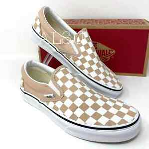 Sneakers Women's Sizes VANS Classic Checkerboard Slip On Frappe VN0A38F7QCO