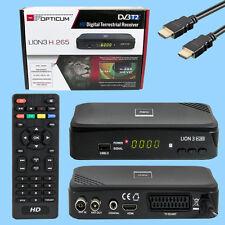 Opticum Lion 3 HD 265 Plus DVB-T2 H.265 HEVC Digitaler Terrestrischer Receiver