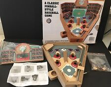Wooden Classic Pinball Style Baseball Game Real Wood Games