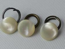 (ref255B) Antique mother of pearl buttons