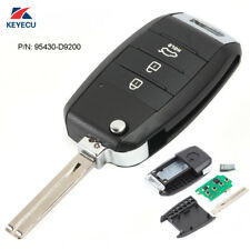 Upgraded Flip Remote Key Fob 433MHz for Kia Sportage 2016-2017 P/N: 95430-D9200