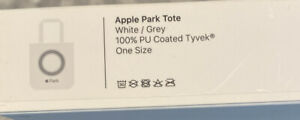 Brand New Apple Park Tote Bag Apple Store Park Cupertino Employee White Grey