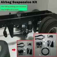 Airbag Anhebbar Fahrwerkssatz für Tamiya 1/14 Scania 56335 Truck RC Modellauto