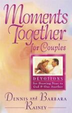 Moments Together for Couples: Dennis & Barbara Rainey-Like New-Free Shipping-HC