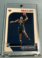 2019/20 Panini NBA Hoops ZION WILLIAMSON HOT ROOKIE CARD RC #258 - Mint!