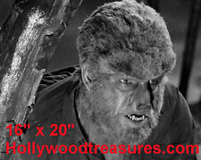 """Wolfman~Photo~Horror~Poster #3~Lon Chaney~Game Room Poster~ 16"""" x  20"""""""