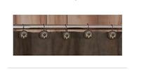 Bone Collector Shower Curtain Hooks Bathroom Deer Hunting Lodge Cabin