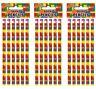 18 Lego Brick Pencils,,.party bag toys,loot bag fillers,favours,Eraser top