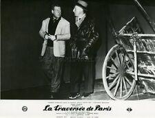 BOURVIL JEAN GABIN LA TRAVERSEE DE PARIS  1956 VINTAGE PHOTO ORIGINAL #1