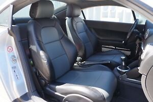 AUDI TT 1999-2006 IGGEE S.LEATHER CUSTOM FIT SEAT COVER 13 COLORS AVAILABLE