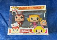 Funko Pop! AD Icon Exclusive Jollibee & Hetty Spaghetti 2pack New MiB O/H