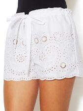 NWT BCBGMAXAZRIA Pash White eyelet lace shorts  Size S-Retail Price 178